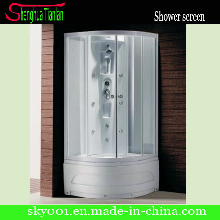 ABS Sector Massage Glass Bathroom Steam Shower (TL-8835)