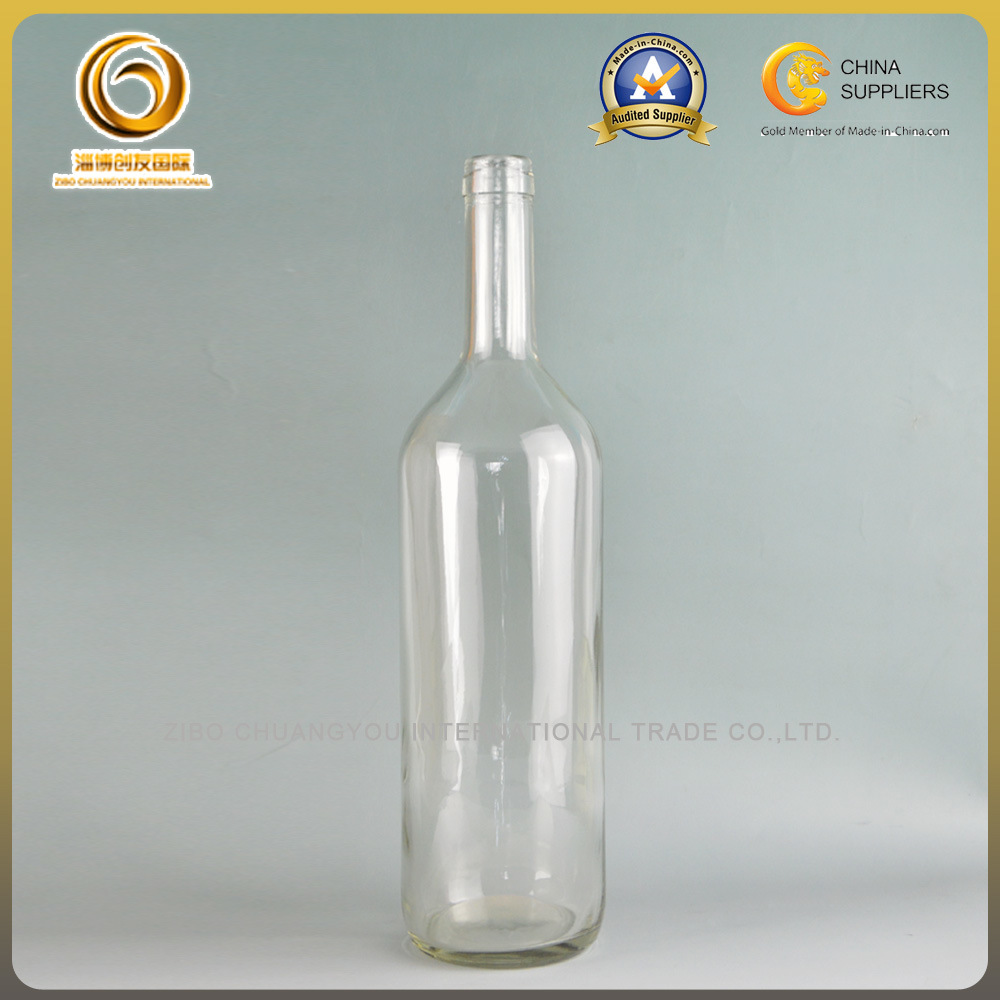 Wholesale Cork Cap 1 Liter Glass Bottle, Beverage Bottle, Water Bottle (037)