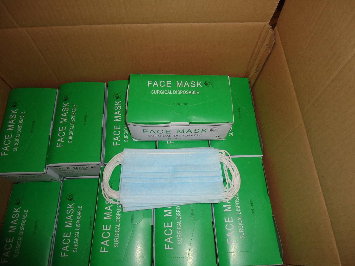Disposable Non-Woven Face Mask for Medical Use