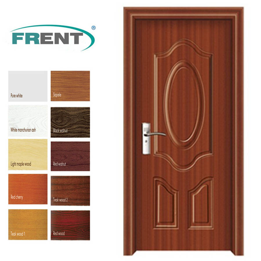China Pvc Coated Mdf Interior Wood Popular Door China Pvc Wood Door Pvc Mdf Door