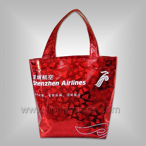 Laminated Colorful Printing Non Woven Shopping Bag