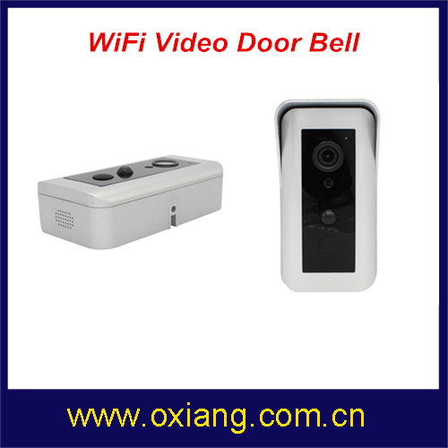 Motion Detection WiFi Video Doorbell Support IR and 2 Way Intercom