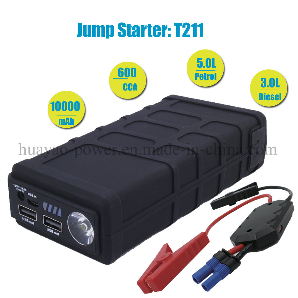 Portable Car Jump Starter Mini Battery Booster 10000mAh