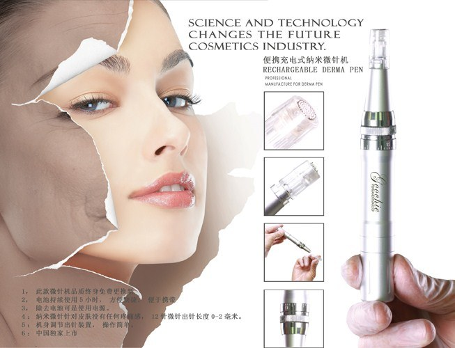 Newest High Quality Derma Skin Care Microneedle Therapy System Pen