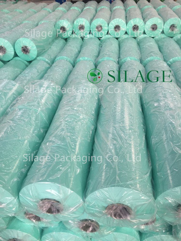 Round Silage Bale Film High Viscosity, Anti-UV 12 Month, Sunlight-Reflection, Super Storing Quality