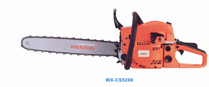 52cc Pump-Film Type Chain Saw with 2 Stroke