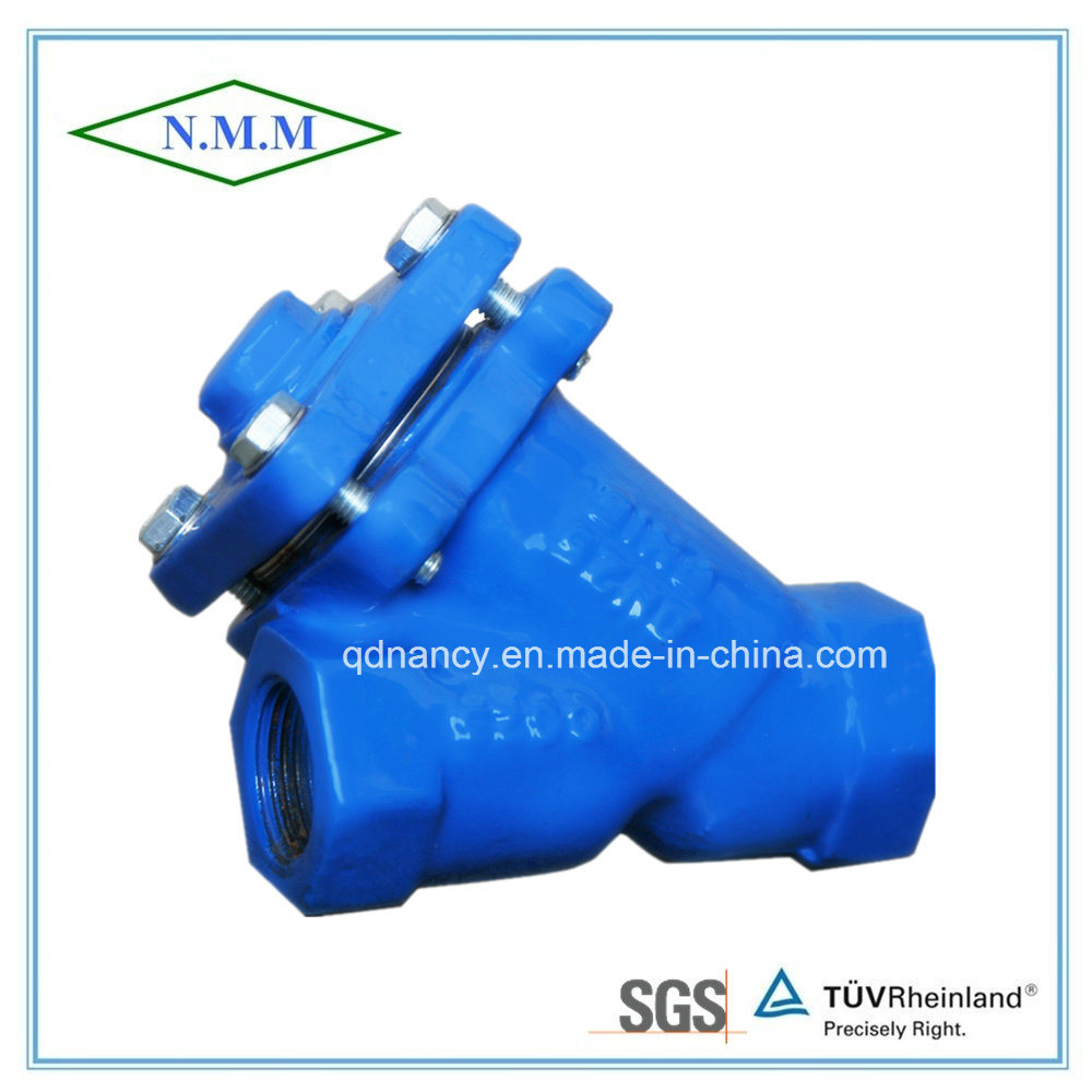 Cast Iron BSPT Threaded End Y-Strainer