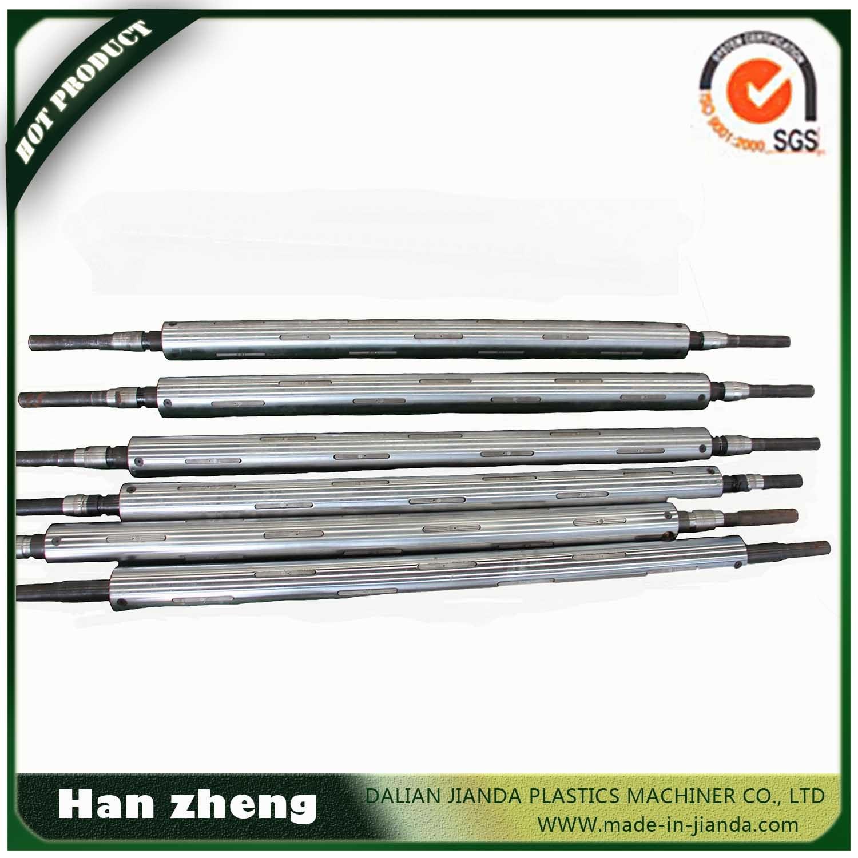 Single Screw Double Head HDPE LDPE Plastic Film Blowing Machine Sjm50-700-2
