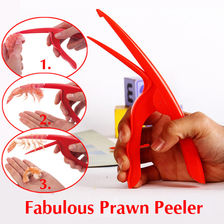 Magic Shrimp Peel Prawn Peeler