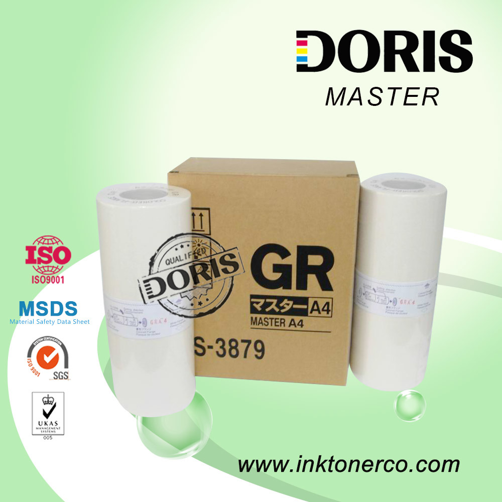 Gr A4 B4 A3 Duplicator Stencil Master S-3879 for Riso