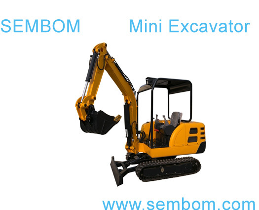 Multifunction Mini Excavator 2.2ton (SE22) for Farming, Civic Building, Gardening