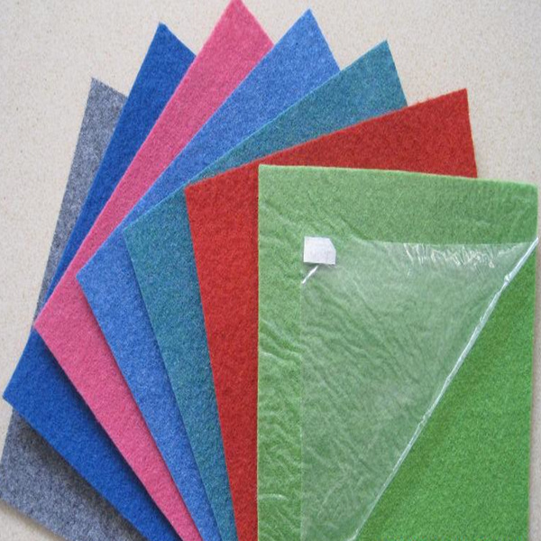 Nonwoven Polyester Plain Red Exhibition Carpet
