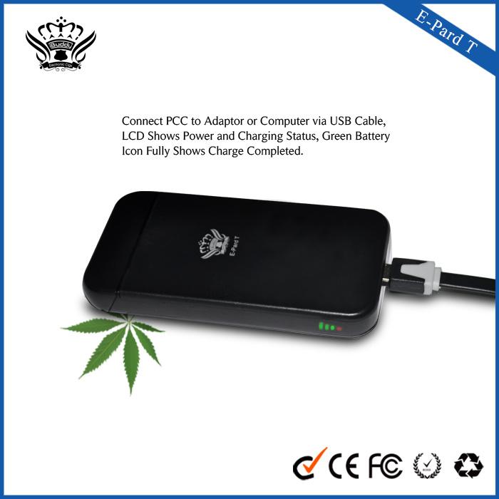 Ecig Factory China E Pard PCC E-Cigarette 900mAh Vaporizer E Liquid