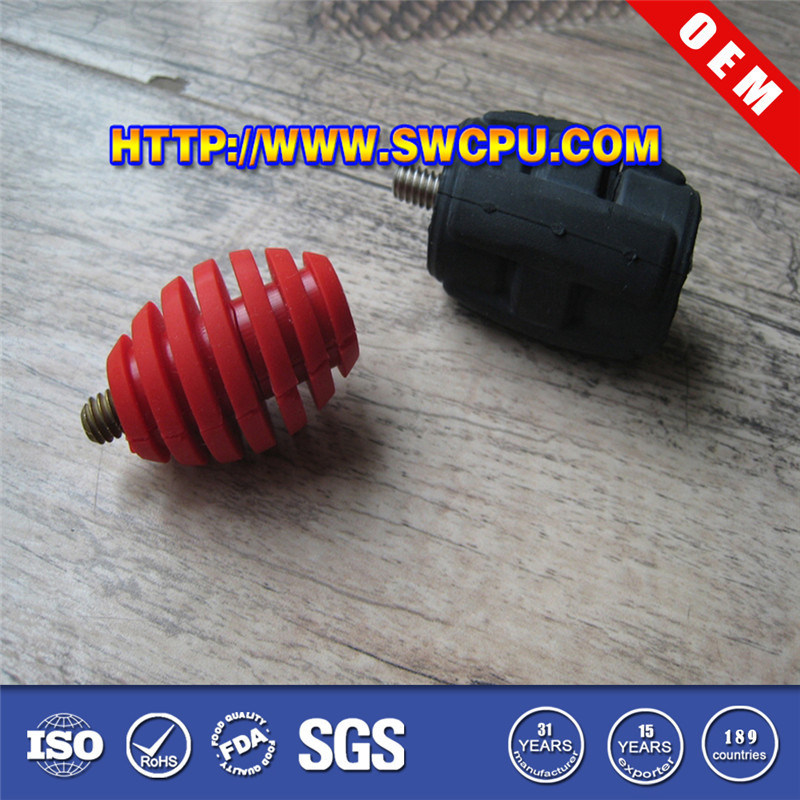 Custom Natural Rubber Vibration Damper (SWCPU-R-M019)