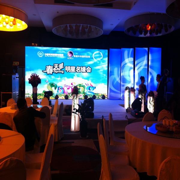 Full Color Indoor Rental P3 Die-Casting Aluminum Moving LED Display Screen