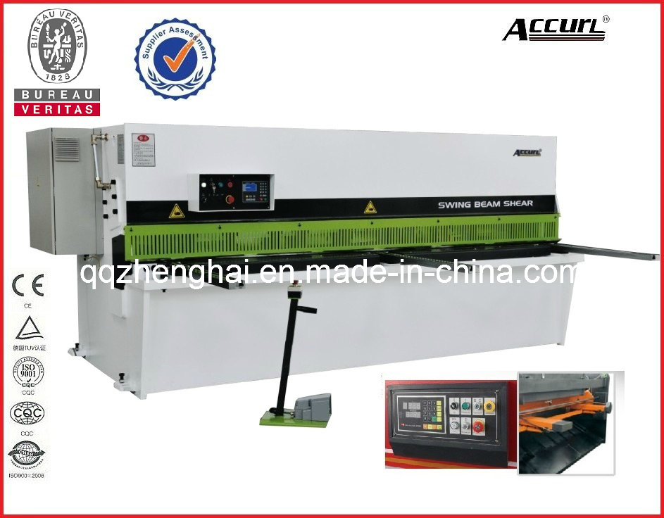 Hydraulic QC12y-8*2500 with CE Certificate Popular in USA and EU Hot Sale Product Shearing Machine