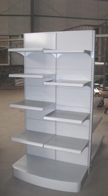 Single/Double Sided Supermarket Gondola Shelf