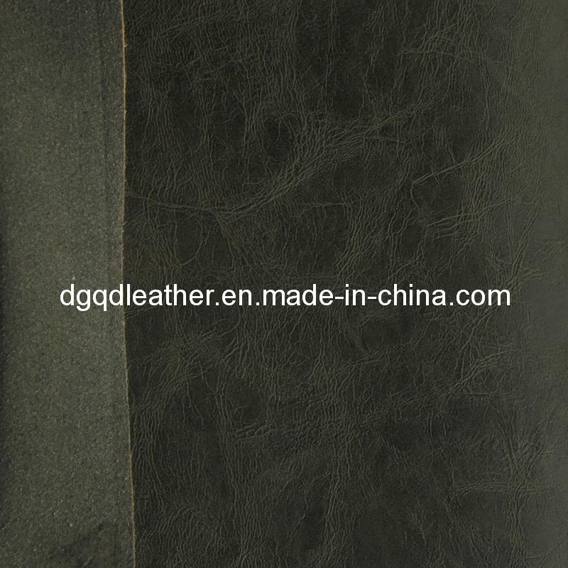 Classical Colors Bonded Furniture PU Leather (QDL-FB005)