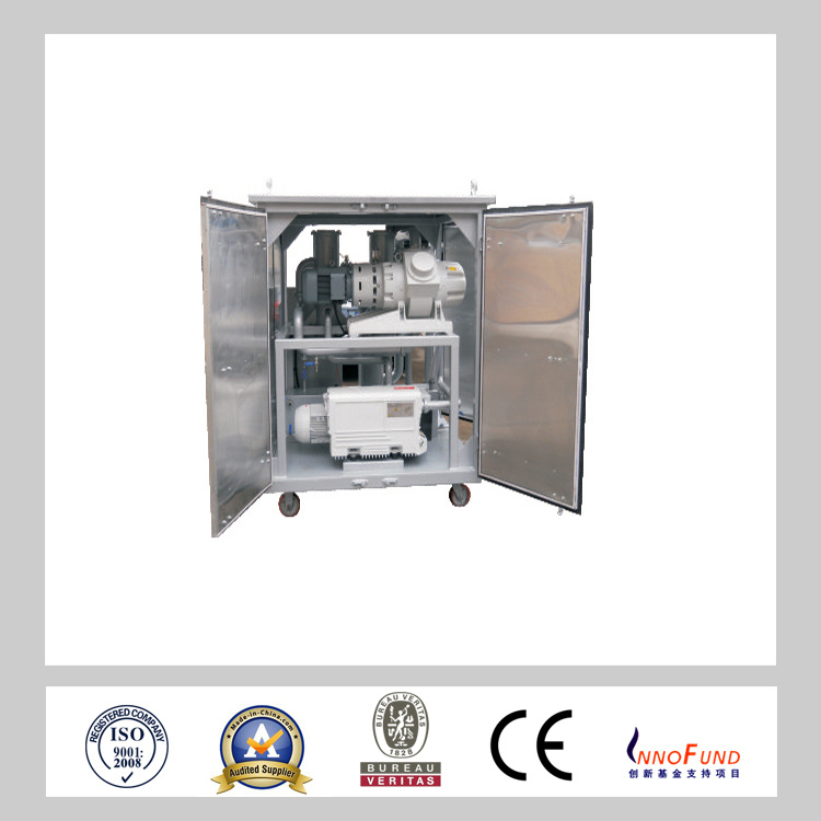 Zj Full-Automatic Vacuum Pumping System with Precision Filter for Transformerot Oil Under Vacuum