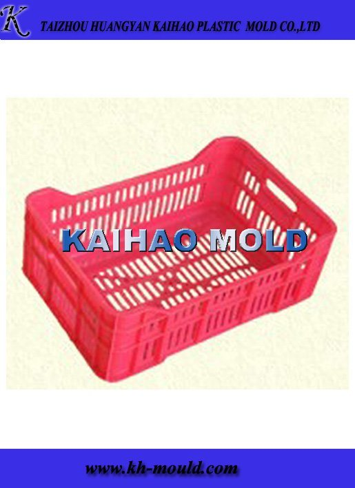 Plastic Crate Mould & Injection Crate Mold Maker (KH-2013003)