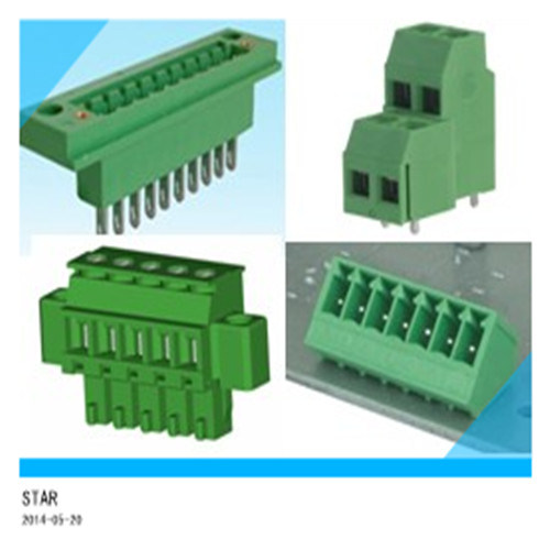 PA66 3.5mm 3.81mm 5.0mm 5.08mm Electrical Terminal Block