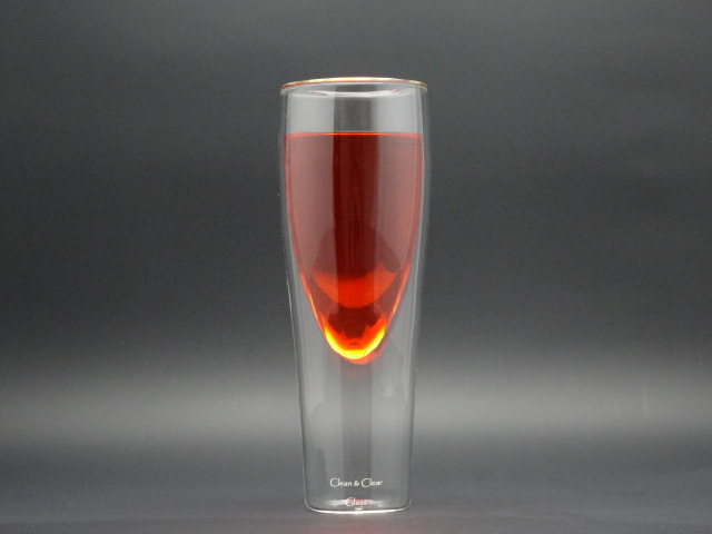 340ml Double Wall Glasscup (made of borosilicate glass 3.3)