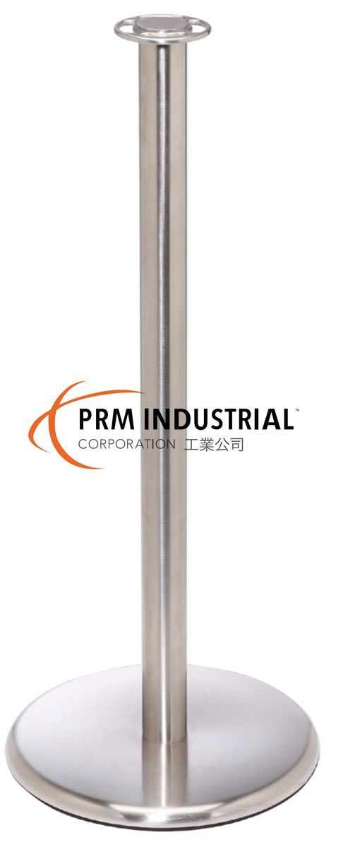 Flat Top Flat Base Stainless Steel Elegance Rope Stanchions