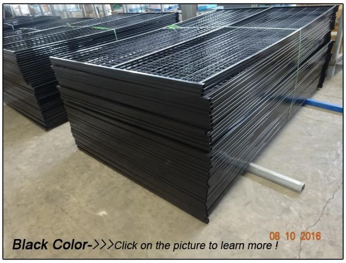 1830mm X 2950mm Temporary Construction Fence Panels for Canada Market