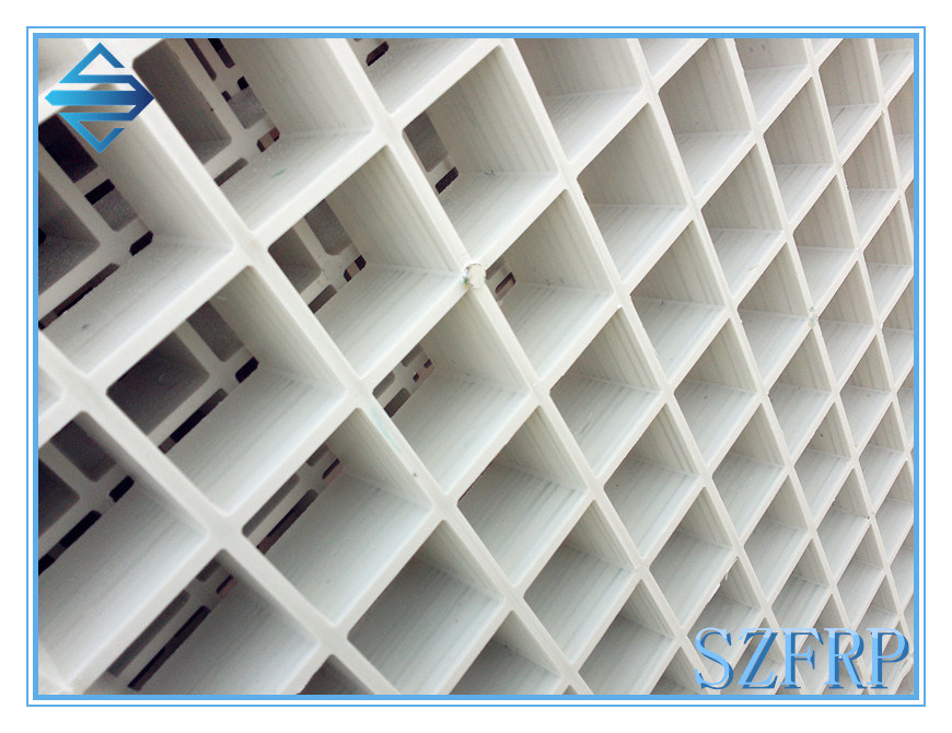 FRP Grating, Fiberglass Molded Gratings, Molded FRP Grids