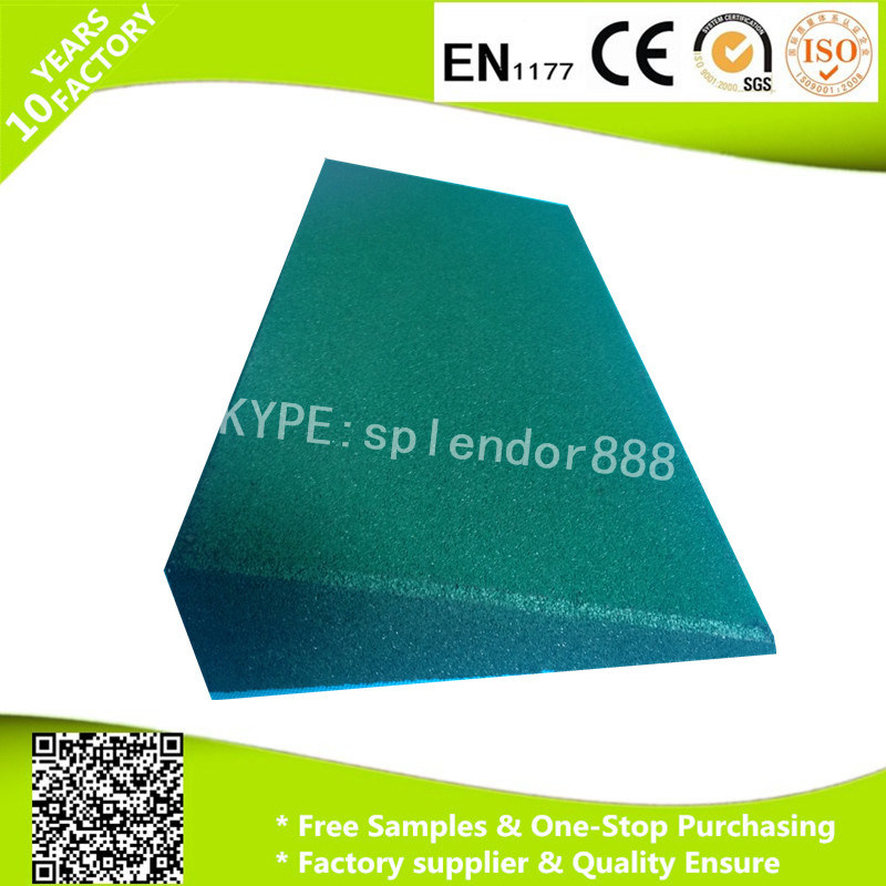 Garden Rubber Tile Border, Durable Rubber Safety Edge