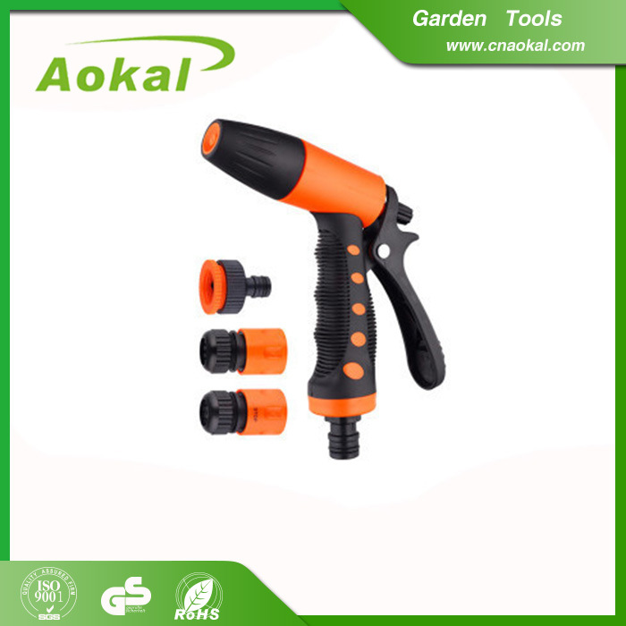 Water Pressure Gun Spray Adjustable Water Spray Nozzle Gun