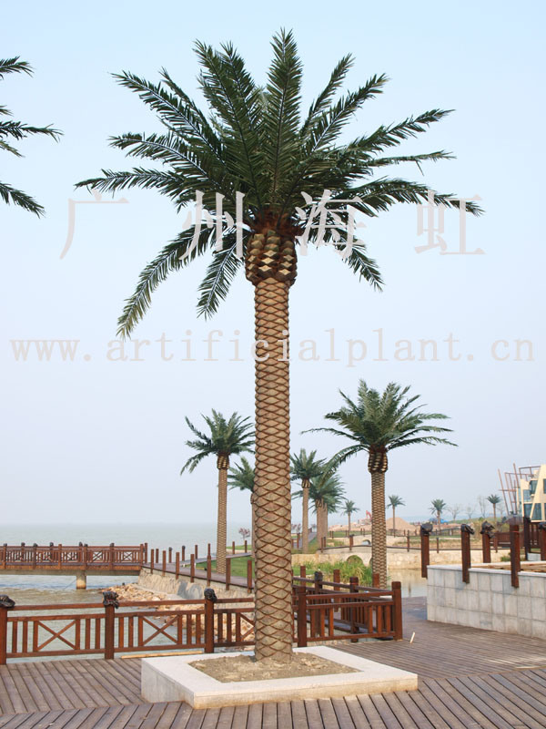 canary date palm tree. Artificial Canary Date Palm