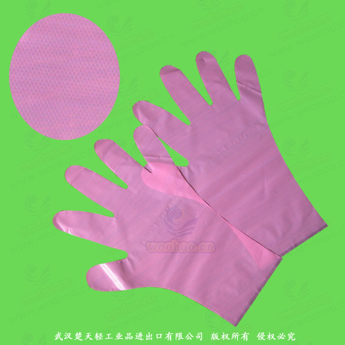 Plastic/Polyethylene/Poly/CPE/HDPE/LDPE/PVC/Exam/Stretchable TPE Elastic/Veterinary/Surgical/Medical/Examination Disposable PE Gloves, Disposable Vinyl Gloves