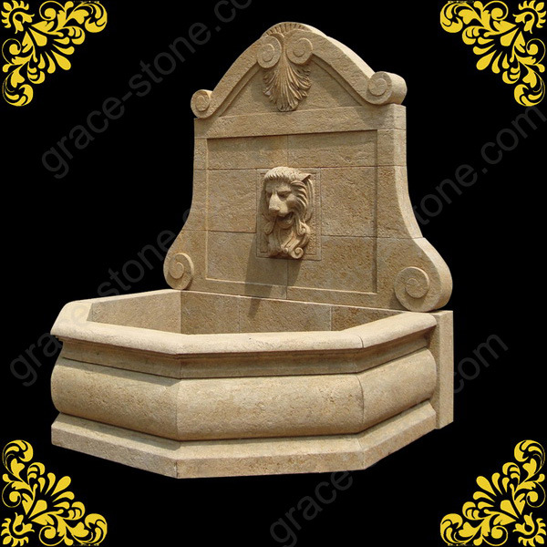 Wall de piedra fountain con antique design wall de - Fuentes de piedra antiguas ...