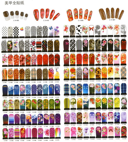 ... Water Decals - China Nail Decoration Water Decals, Nail Art Stickers
