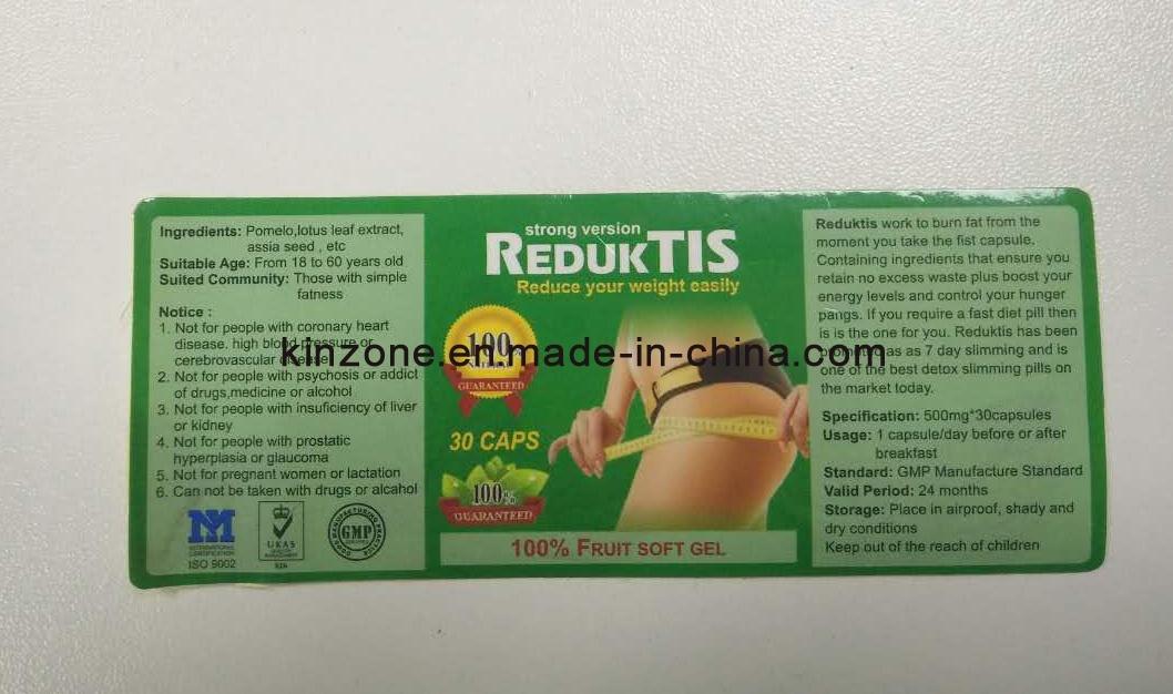Reduktis Slimming Soft Gel Herbs Weight Loss Diet Pills