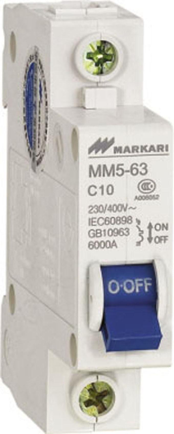 Mini Circuit Breaker (MM5-63-1P)