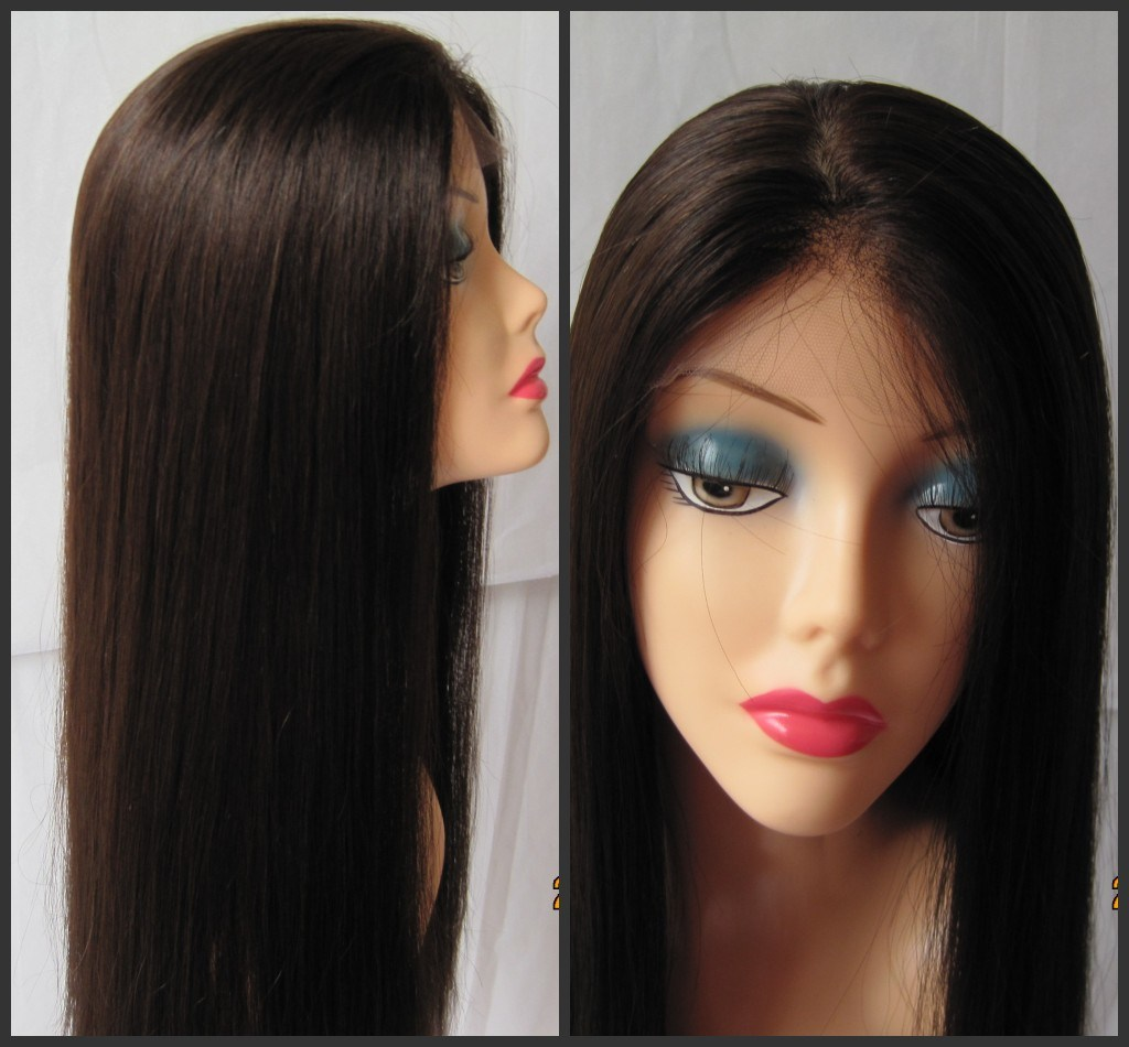 how to add hair to full lace wig