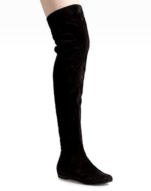 china lotoyo flat suede the knee boots ltyqc745b