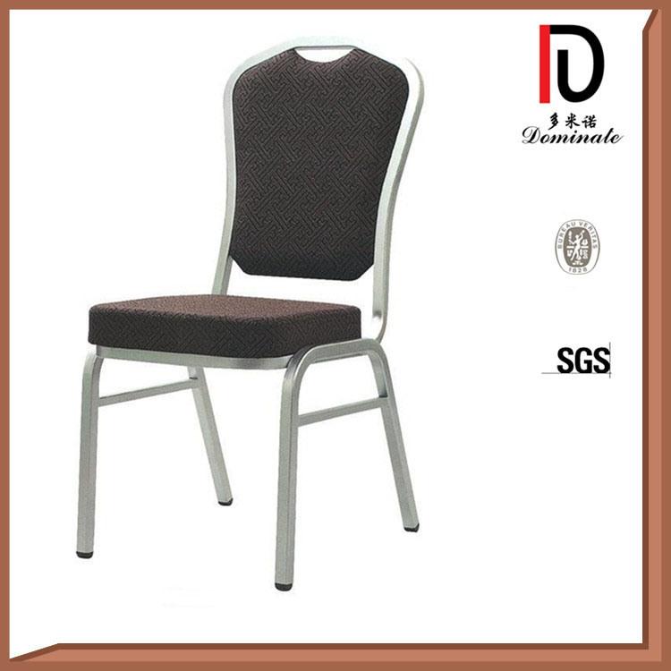 Foshan Wholesale Metal Aluminum Stacking Hotel Restaurant Banquet Chair