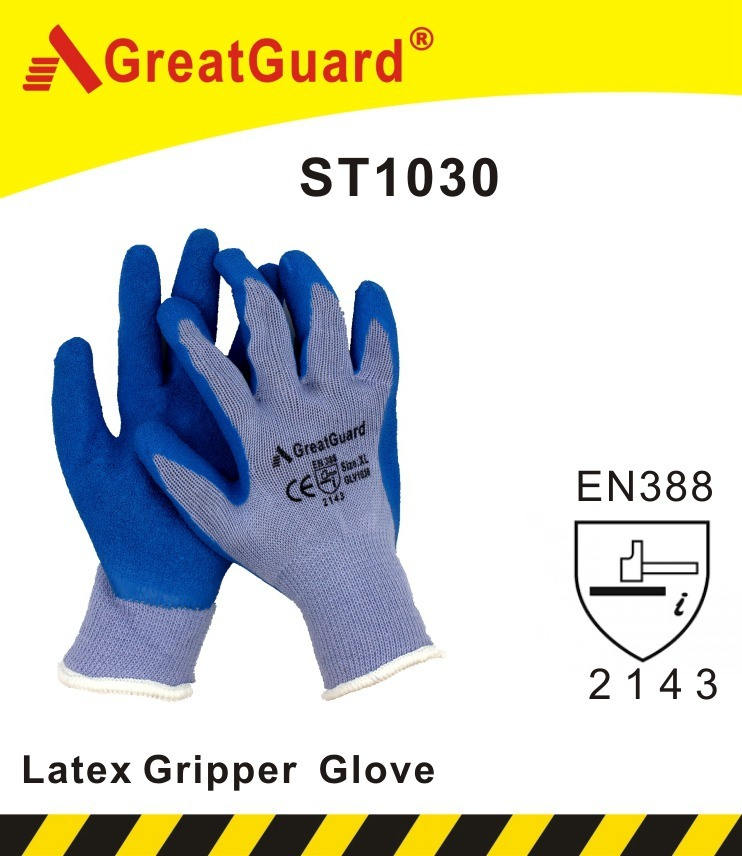 En388/420 CE Certificated Latex Glove (ST1030)