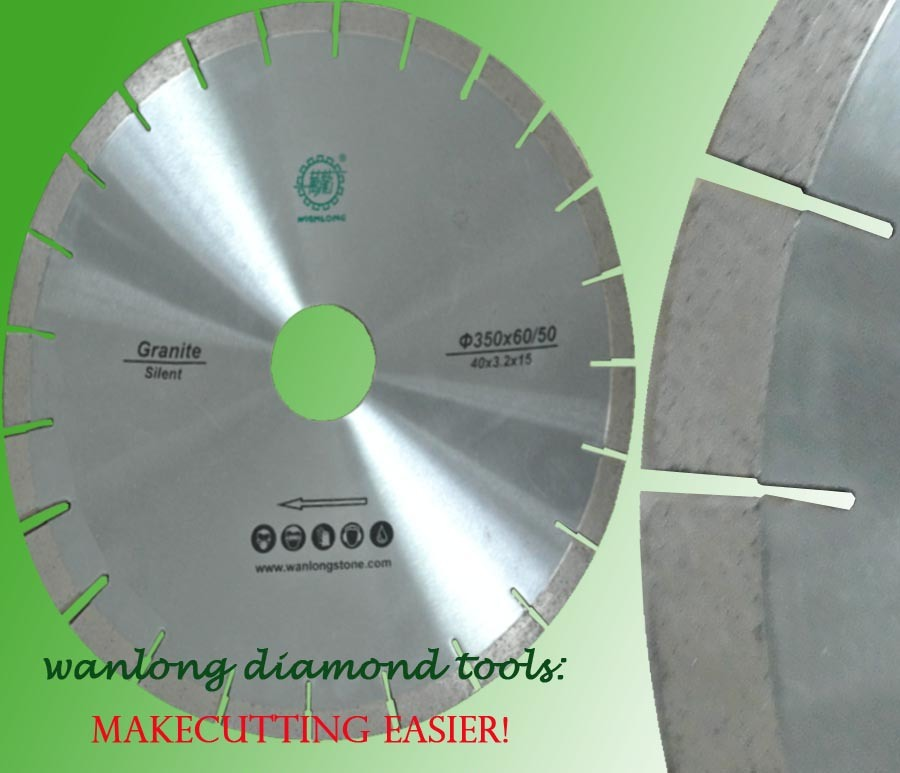 China electroplate diamond edge cutting saw blade water