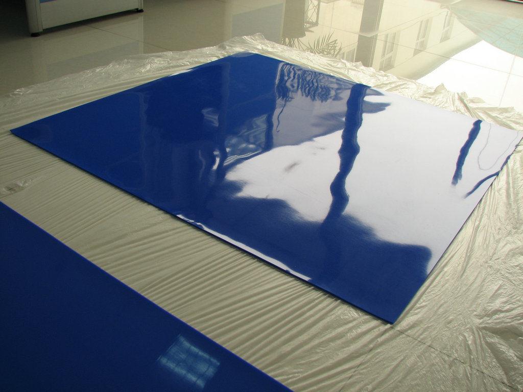 Dark Blue Silicone Membrane Special for Glass Laminator