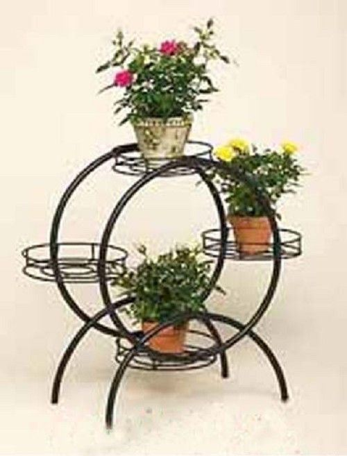 Pot Stand Designs : China flower pot holder wrought iron lf