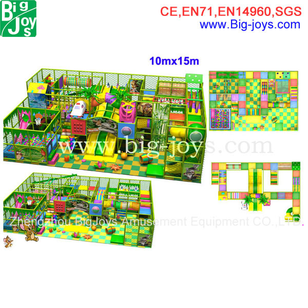 Indoor Playground, Indoor Playground Equipment (BJ-IP001)