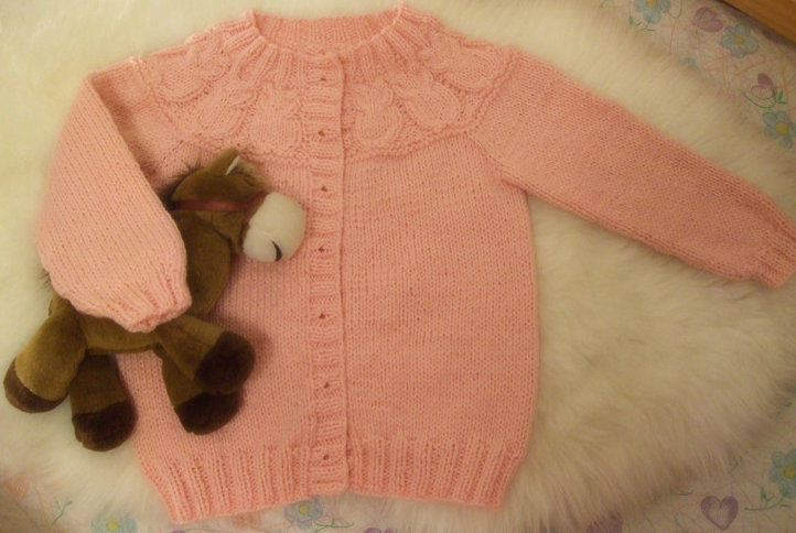 Hand Knit Owl Baby Sweater - China Baby Sweater, Hand Knit