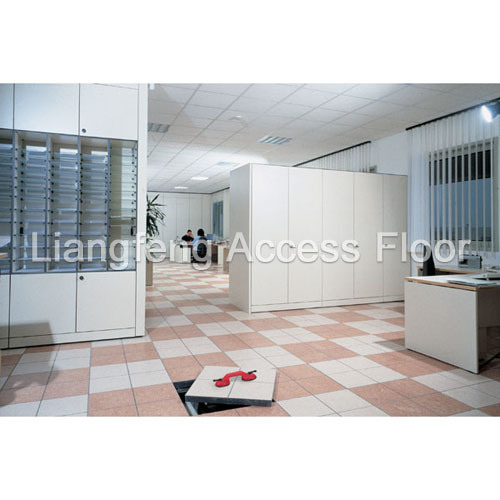 china office raised floor with ceramic tile china access