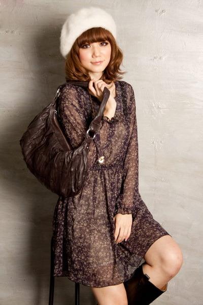 كّل عَآمً و  {  ريمي  } بَـ خيٍـر ... ! Korean-Style-Chiffon-Dress-E6003-