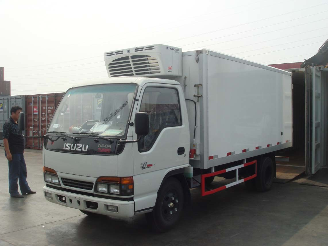 Refrigerated Truck Vehicle : China reefer truck refrigerated