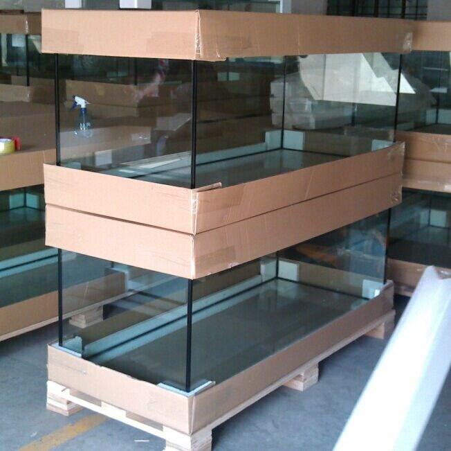 China large glass aquarium huge fish tank big fish farming for How to build a large fish tank